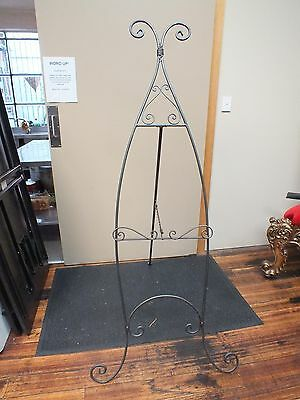 Wrought Iron Presentation Easel