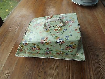 Vintage Burgess Ware Lovely Cheese Or Butter Dish See Description