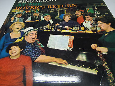Singalong At The Rover`s Return  By The Stars Of Coronation Street   Gtvr 1