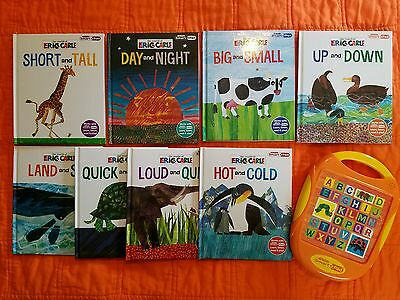 My First Smart Pad & 8 Books from The World of Eric Carle *TESTED*