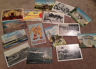 Wwii Postcard Lot 137Th Infantry 35Th Infantry Division