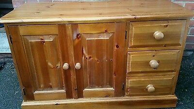 Solid pine sideboard/ unit