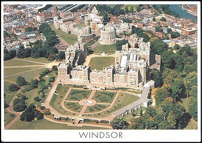 Postcard -Aerial View Of Windsor,  England