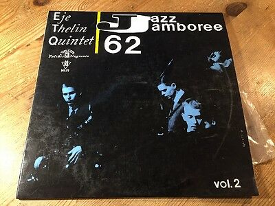 LP Polskie Nagrania Muza ‎L 0395 Eje Thelin Quintet ‎– Jazz Jamboree 62 Vol. 2