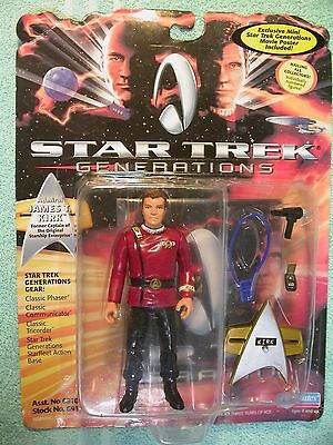 Star Trek James Kirk Playmates 6811 maroon tunic with acc