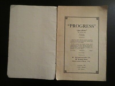 "OCCULT 1927 Vintage Old Booklet. ""Horoscope and Dream Book"""
