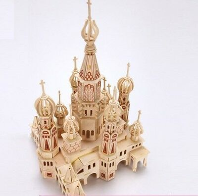 3D DYI Puzzle Toy or Decoration- St. Petersburg