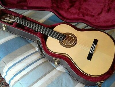 Katoh Classical Guitar Munich Spruce / Maple Deluxe Hcase Like New $1100 OBO!