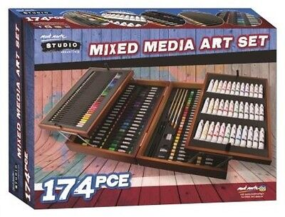 Mont Marte Studio Essentials Mixed Media Art Set 174pce (MMGS0012)