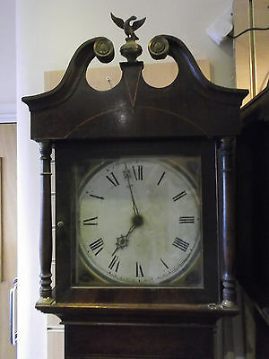 Mid 19th Century Grandfather Clock. Delivery Arranged