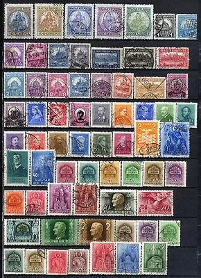 Hungary 1920 - 1946 Mint/Used: 2 Pages L#4434