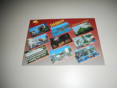 POSTCARD OF DARWIN NORTHERN TERRITORY date on back Sept 93