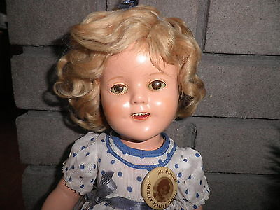 Vintage 1934 Composition Shirley Temple Doll by Ideal 1st Edition Original