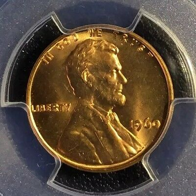 1960 Lincoln Memorial Cent Small Date Variety Certified MS 65 RD PCGS