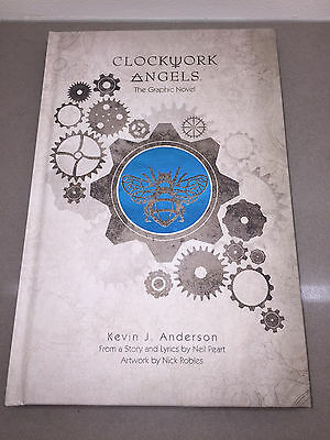 Clockwork Angels Graphic Novel Neil Peart Signed Autograph Limited Edition