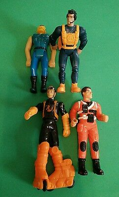 mcdonalds happy meal toys action man figurines 4 pcs assorted