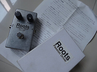 ROOTS JT Custom Guitar Effect Pedal Japan Passion Driver Fuzz Overdrive BOSS