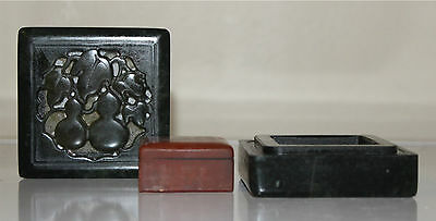 Chinese Shoushan/Soapstone Seal in Box
