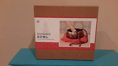 Earthbound Singing Bowl, Ancient Harmonic Meditation Tool, NWT