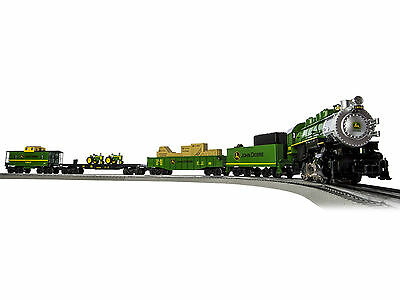 LIONEL 6-83286 - John Deere Steam LionChief™ Train Set - 2016 BRAND NEW