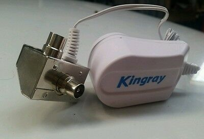 Tv booster power supply kingray  to power up external boosters 3 year gt.