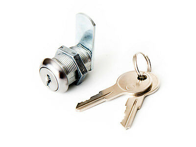 """CL941 Cam Lock with 3 cams ~ 5/8"""" threaded ~ PL U9941 ~ drawer & cabinet lock"""