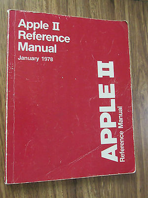 (1978) Apple II Reference Manual - Red Book