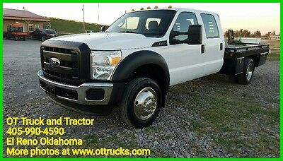 2011 Ford F-450 XL 2011 Ford F-450 Crew Cab 11ft Flatbed 6.8L V10 4x4 Automatic