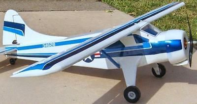 Vintage BEAVER Semi-Scale FF or RC Model Airplane PLANS TWO Great Flying Models