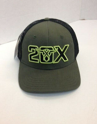 Wrangler 20X Logo Embroidery 20X187M Strap Back Closure  !