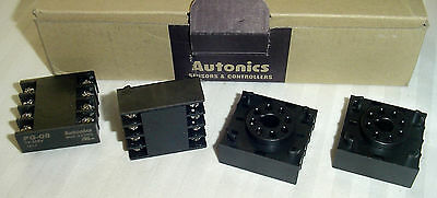 NEW~QTY (40) Autonics PG-08 Sockets 8 Pin Reverse Terminal, for Panel Mounting