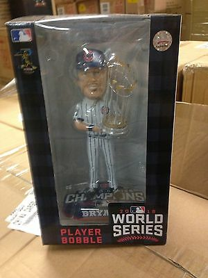 Kris Bryant CHICAGO CUBS 2016 WORLD SERIES CHAMPIONS BOBBLEHEAD TROPHY NEW