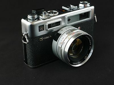 Yashica Electro 35 GSN 35mm Rangefinder Camera, Serviced, New POD, Very Nice!