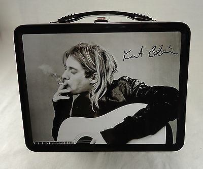 """Kurt Cobian 2005 """"The End of Music"""" Metal lunch box by Neca ( New - Unused )"""