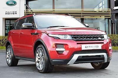 2013 Land Rover Range Rover Evoque SD4 DYNAMIC Diesel red Automatic