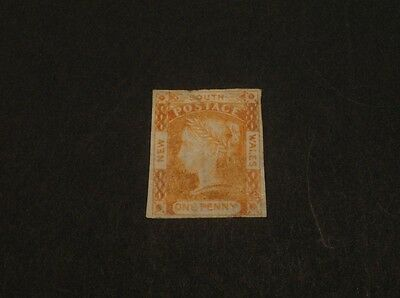 Australia NSW one penny imperf Mint hinged stamp