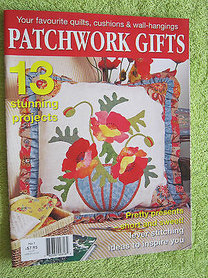 Patchwork Gifts 13 Stunning Projects Quilts, Cushions & Wall Hangings No.1