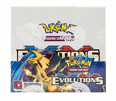 Pokemon Xy Evolutions Booster Box Factory Sealed  36 Packs New==