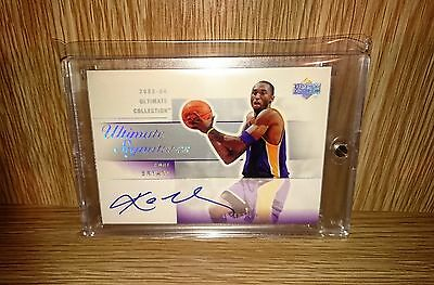 2003-04 Ultimate Collection Ultimate Signatures Kobe Bryant #KB-A