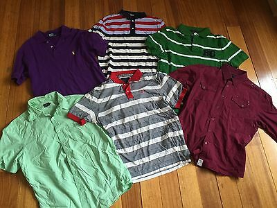 Bulk Lot Of Men's Shirts Sportscraft Rodd And gunn