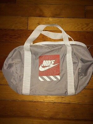 Nike Duffel Sports Light Gym Bag Beige