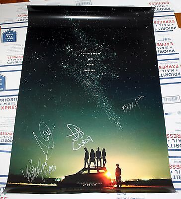"POWER RANGERS MOVIE 2017 Cast Signed 27"" x 40"" Color Poster! SDCC Becky G RARE"