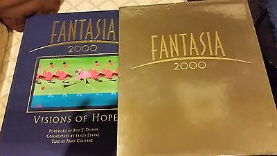 Disney Fantasia 2000 Vision Of Hope With Slip Cover Hardcover Collectible Rare