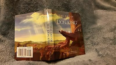Disney Art Of The Lion King Book With Illustration From Disney Press Rare