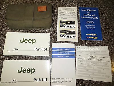 2008 Jeep Patriot Owners Manual