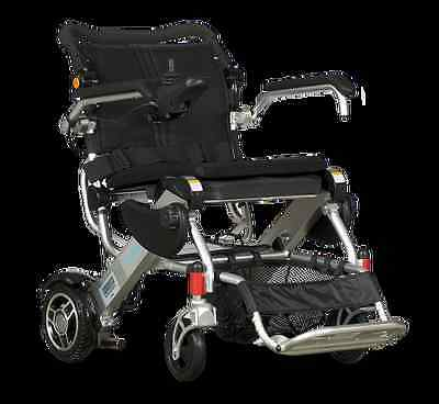 Companion 150 Folding Electric Wheelchair  incl carry suitcase