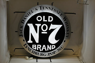 Jack Daniels No.7 Whiskey Neon Sign w/ Video