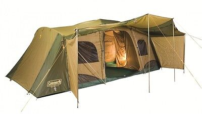 COLEMAN - Montana 12 CV Family Tent - Exc Condition ($1,000 New)