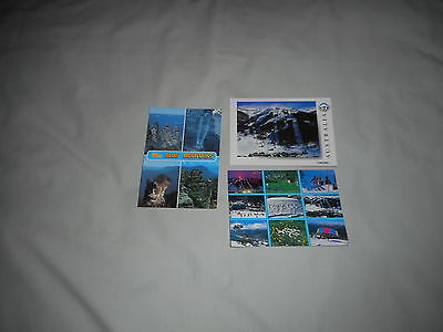 POSTCARDS OF THE BLUE MOUNTAINS and THREDBO a total of 3 postcards