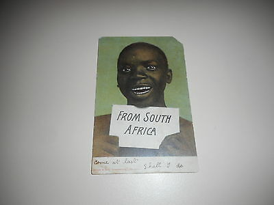 Vintage Postcard From South Africa